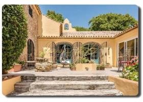 Immogold, repräsentative, exklusive Landhausvilla im Cortijostil mit Pferdeboxen, Costa del Sol, Sotogrande, Cádiz.