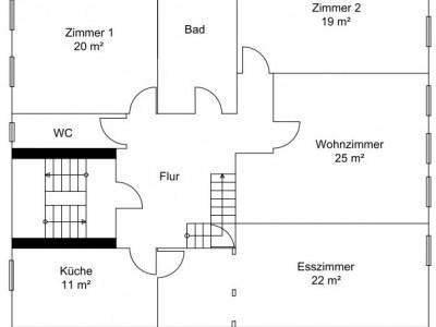 Nachmieter, vollständig renovierte 4,5-Zimmer-Wohnung im DG in Ebingen