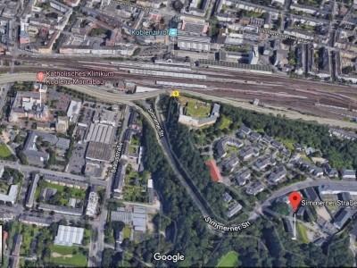 ohne Makler Provisionsfrei 2,5 Zimmerwohnung neu renoviert Koblenz Karthause SimmernerStr.