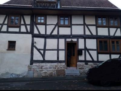 kleines, stilvolles Fachwerkhaus, liebevoll restauriert in Sontra