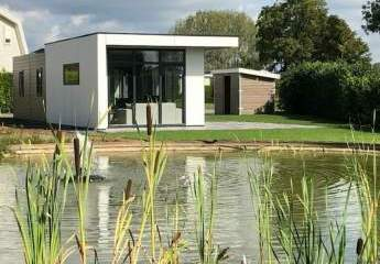 Immohome.net - neues Luxus-Charlet Modell Cube im Ferienpark in Holland