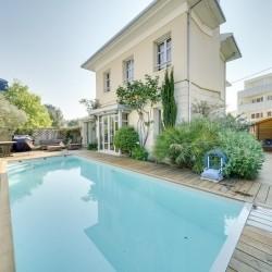 BORDEAUX Frankreich - schönes Haus + heated pool Top Viertel