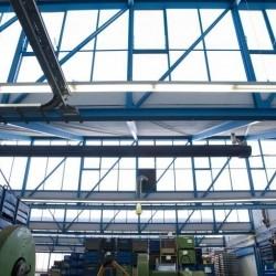 Hallen für Produktion oder Lager mit Büro, Nähe Düsseldorf, erweiterbar