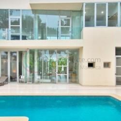 Investitionsobjekt - Moderne Villa mit Meerblick, Dachterrasse und Pool, in Santa Ponsa