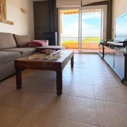 Zwei Schlafzimmerwohnung mit Meerblick in direkter Nähe zum kleinen Strand von Santa Ponsa