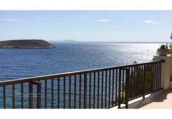 Apartment in erster Meereslinie mit Blick über die ganze Bucht – in Cala Vinyes