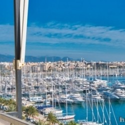 ***Moderne Meerblick Wohnung in Premium Lage am Paseo Maritimo in Palma***