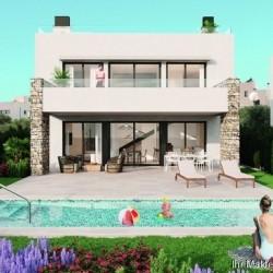 ***Luxus-Villen mit 3 Schlafzimmern, Garage, Dachterrassen und Privatpool nur 300 m vom Strand***
