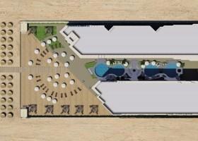 DIREKTE STRANDLAGE! 2 ZIM. APARTMENT-POOL & MEERBLICK, LA QUINTA Resort  in Hurghada-Ägypten zu verkaufen