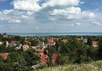 Plattensee - Panoramagrundstück in Bestlage von Balatonfüred